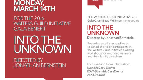 Writers Guild Initiative Gala on March 14, 2016